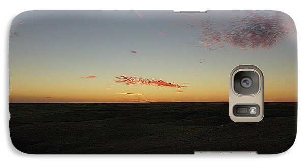 Galaxy Case featuring the photograph Flint Hills Dusk by Thomas Bomstad