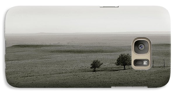 Galaxy Case featuring the photograph Flint Hills Vistas by Thomas Bomstad