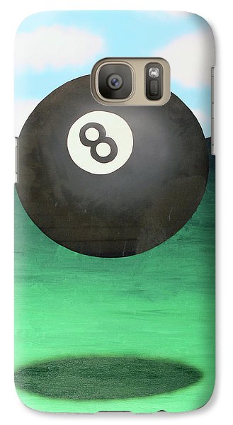 Galaxy Case featuring the painting Floating 8 by Thomas Blood