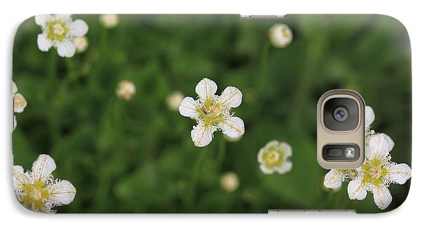 Galaxy Case featuring the photograph Floating In Green by Shari Jardina