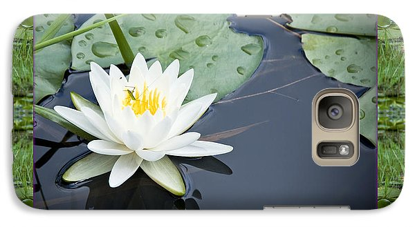 Galaxy Case featuring the photograph Floating Ivory by Bell And Todd