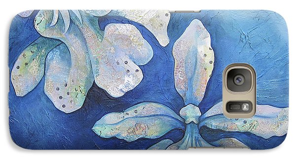 Floating Orchid Galaxy S7 Case by Shadia Derbyshire