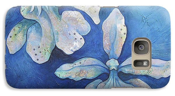 Floating Orchid Galaxy Case by Shadia Derbyshire