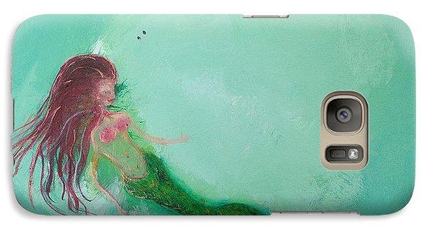 Floaty Mermaid Galaxy S7 Case