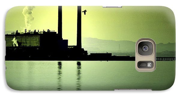 Galaxy Case featuring the photograph Flock Of Gulls by Craig B