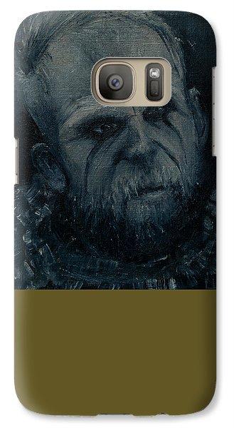Galaxy Case featuring the painting Floki by Lynn Hughes