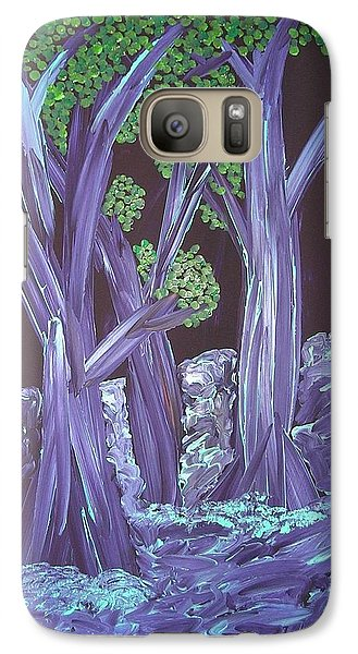 Galaxy Case featuring the painting Flooded Forest by Joshua Redman