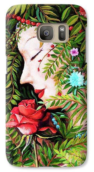 Flora-da-vita Galaxy S7 Case