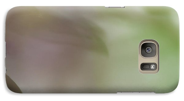 Galaxy Case featuring the photograph Floral Abstract by Roger Mullenhour