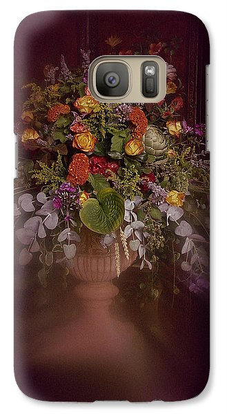 Galaxy Case featuring the photograph Floral Arrangement No. 2 by Richard Cummings