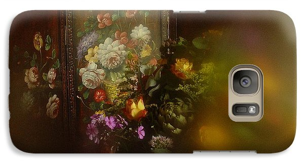 Galaxy Case featuring the photograph Floral Arrangement No. 3 by Richard Cummings
