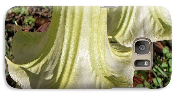 Galaxy Case featuring the photograph Floral Ballgown by Betty Northcutt