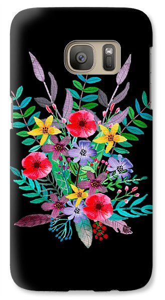 Flowers Galaxy S7 Case - Just Flora by Amanda Lakey
