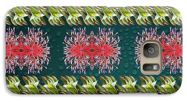 Galaxy Case featuring the photograph Floral Contemporary Art by Gary Crockett
