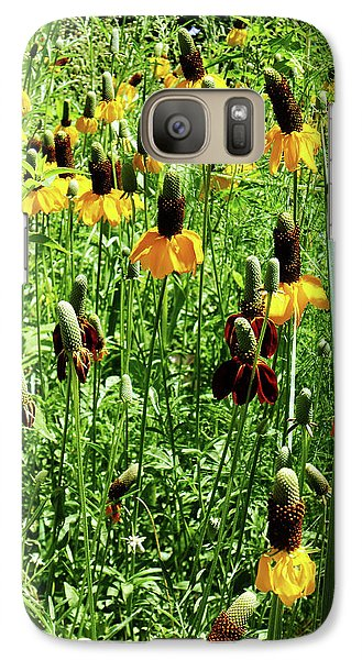 Galaxy Case featuring the photograph Floral by Cynthia Powell