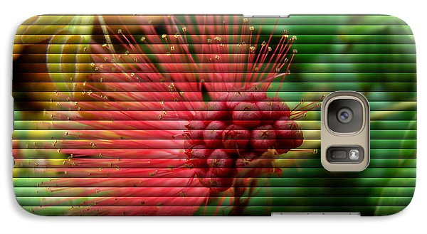Galaxy Case featuring the photograph Floral Fan by Sue Melvin