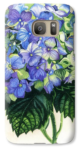 Galaxy Case featuring the painting Floral Favorite by Barbara Jewell