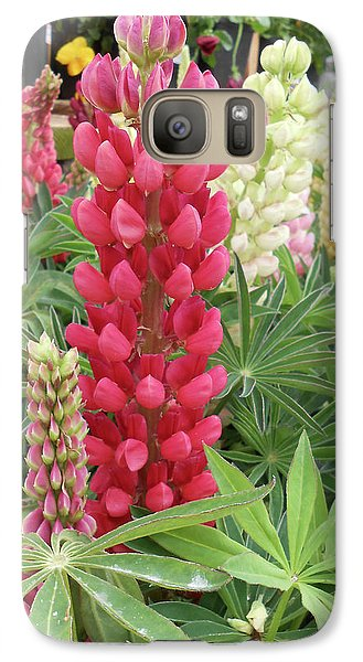 Galaxy Case featuring the photograph Floral2 by Cynthia Powell