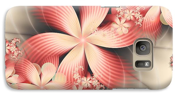 Galaxy Case featuring the digital art Floralina by Michelle H