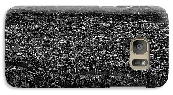 Galaxy Case featuring the photograph Florence From Fiesole by Sonny Marcyan
