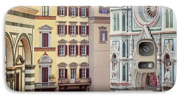 Galaxy Case featuring the photograph Florence Italy View by Joan Carroll
