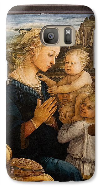 Florence - Madonna And Child With Angels- Filippo Lippi Galaxy S7 Case