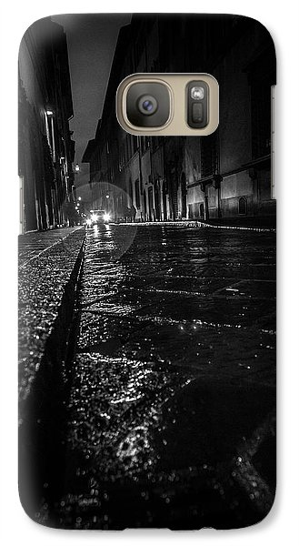 Galaxy Case featuring the photograph Florence Nights by Sonny Marcyan