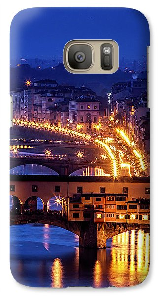 Galaxy Case featuring the photograph Florentine Strands by Andrew Soundarajan