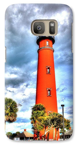 Galaxy Case featuring the photograph Florida Lighthouse by William Havle