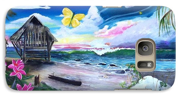 Galaxy Case featuring the painting Florida Room by Dawn Harrell