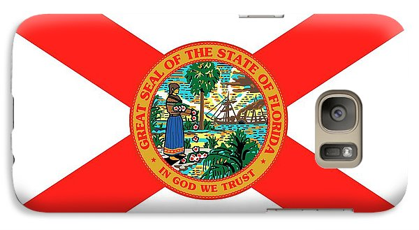 Florida State Galaxy S7 Case - Florida State Flag by American School