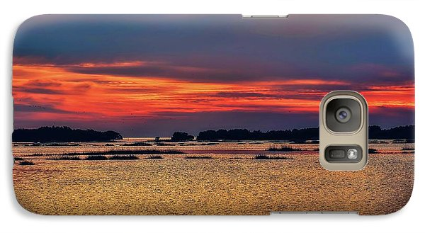 Galaxy Case featuring the photograph Florida West Coast  by Louis Ferreira