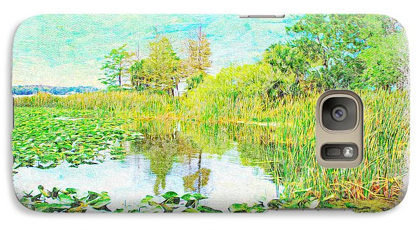 Florida State Galaxy S7 Case - Florida Wetlands by Laura D Young