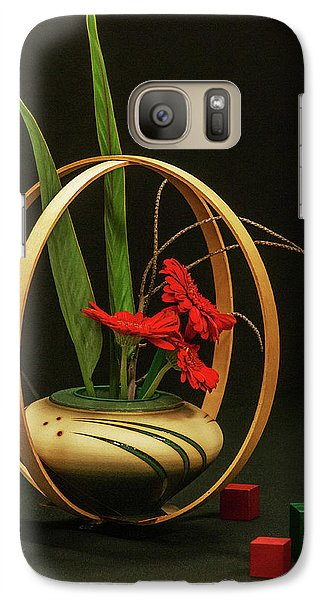 Galaxy Case featuring the photograph Flow Ikebana by Carolyn Dalessandro