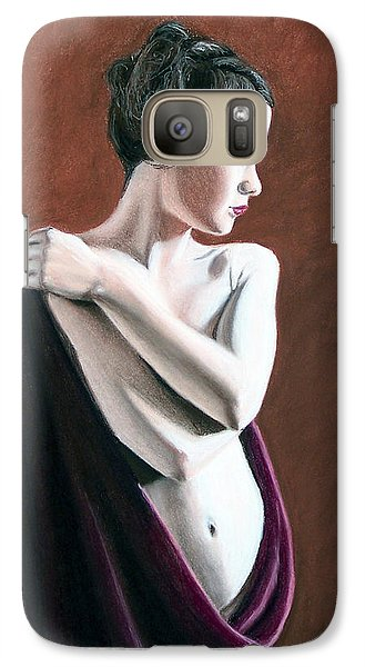Galaxy Case featuring the painting Flow by Joseph Ogle