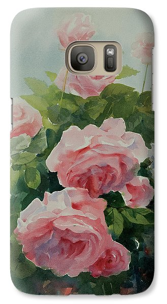 Galaxy Case featuring the painting Flower 11 by Helal Uddin