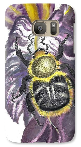 Galaxy Case featuring the painting Flower Beetle by Dawn Senior-Trask
