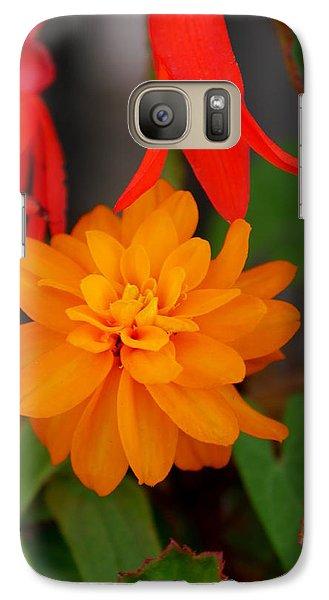 Galaxy Case featuring the photograph Flower by Bernd Hau