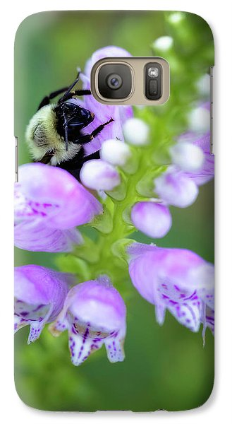Galaxy Case featuring the photograph Flower Climbing by Eduard Moldoveanu