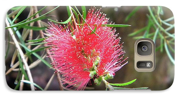 Galaxy Case featuring the photograph Flower Close-up by Manuela Constantin