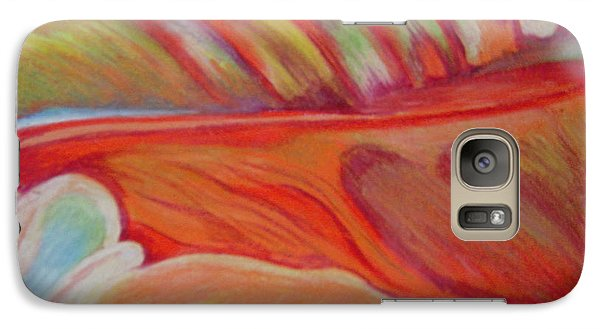 Galaxy Case featuring the painting Flower Detail by Fanny Diaz