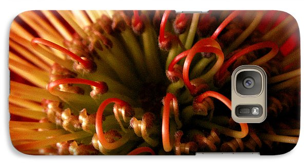 Galaxy Case featuring the photograph Flower Hawaiian Protea by Nancy Griswold