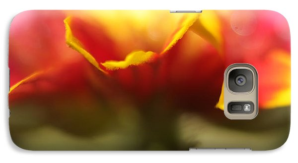 Galaxy Case featuring the photograph Flower Impressions II by Martina  Rathgens
