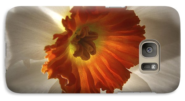 Galaxy Case featuring the photograph Flower Narcissus by Nancy Griswold