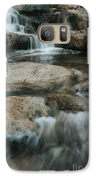 Galaxy Case featuring the photograph Flower Park by Iris Greenwell