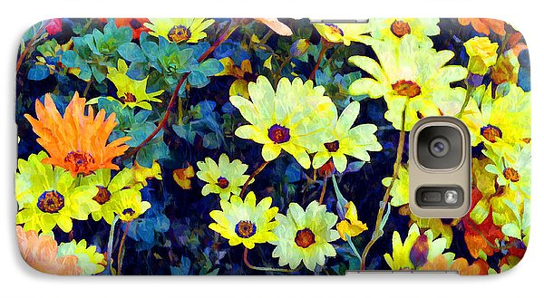 Galaxy Case featuring the photograph Flower Power by Glenn McCarthy Art and Photography