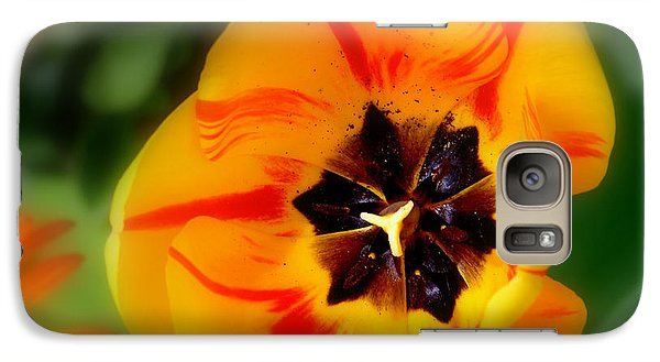 Galaxy Case featuring the photograph Flower Power by Martina  Rathgens