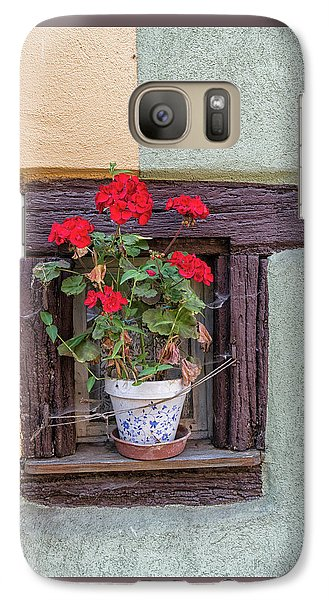 Galaxy Case featuring the photograph Flower Still Life by Alan Toepfer