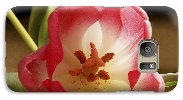 Galaxy Case featuring the photograph Flower Tulip by Nancy Griswold