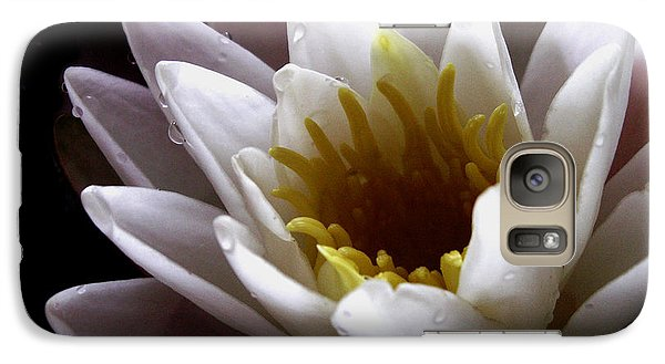 Galaxy Case featuring the photograph Flower Waterlily by Nancy Griswold